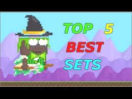 growtopia top 5 best sets