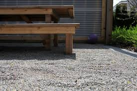 How To Make A Pea Gravel Patio Unique How To Build A Pea Gravel Patio 75 For Lowes Patio Dining