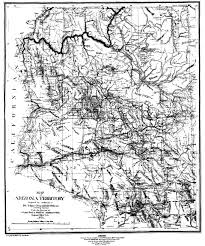Map Of Southern Arizona by The United States Army Fort Huachuca Az