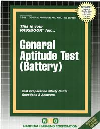 general aptitude test battery jack rudman national learning