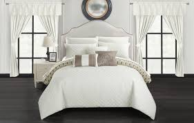 home design comforter chic home sigal 20 comforter set reversible bed in a bag beige