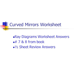 curved mirrors worksheet ppt video online download