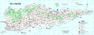 road map of st usvi villa margarita st croix road map us islands jpg