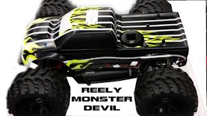 nitro monster trucks reely monster devil 1 8 nitro monster truck vorstellung und