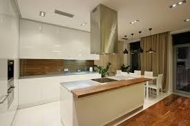 cuisine bois et blanc laqué cuisine bois et blanc laque newsindo co