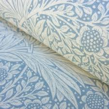 William Morris Wallpaper by William Morris Marigold Linen Print