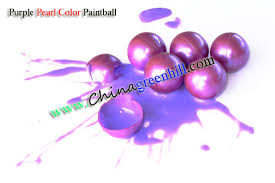 0 68 inch paint ball paintballs of pearl pink purple gold green