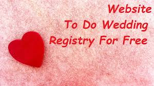 where to do wedding registry 5 best website where you can do your wedding registry for free