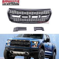 abs light on ford f150 car truck front upper replacement abs black grill grille raptor