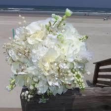 hydrangea wedding bouquet white hydrangea wedding bouquet white orchid and hydrangea bridal