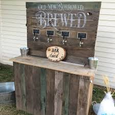 Home Beer Dispenser 4 Tap Wedding Bar Built By Kegworks Customer Anthony Rubolotta