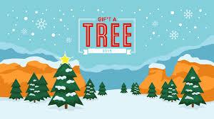 pretty white spruce christmas tree gif u0027t a tree this xmas