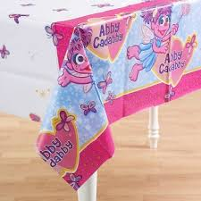 abby cadabby party supplies abby cadabby party tablecover bubbles and rainbows party