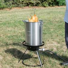 Backyard Pro Grill by Backyard Pro Weekend Series 30 Qt Turkey Fryer Kit With Aluminum