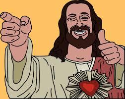 Buddy Christ Meme - buddy christ image gallery know your meme 600x600 60 64 kb