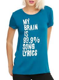 misfits halloween lyrics brain is song lyrics girls t shirt topic