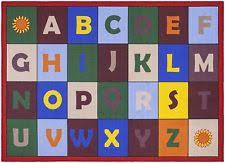 Alphabet Area Rug Children Alphabet Play Mat Kids Bed Room Area Rug Educational