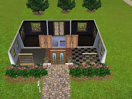 fashionable 9 sims 3 house floor plans 2 bedroom family homes for