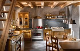 Rustic Style As The Interior Design Kitchen Modernrustic - Interior design rustic style