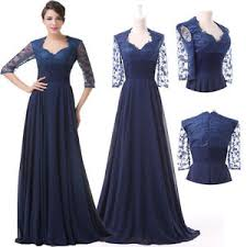 navy blue long prom party formal evening ball gown uk bridesmaid