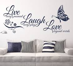room wall art quotes for living room decor color ideas