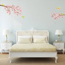 cherry blossoms and birds wall stickers cherry blossoms birds wall stickers
