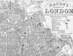 wall mural poster old vintage antique maps london england