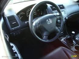 2006 black honda accord black interior 2006 honda accord ex l v6 sedan photo 40491974