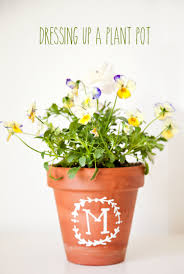 mothers day plants dressing up a planted pot so easy and for s day or