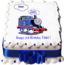 making thomas the tank engine train cake birthday photo cakes