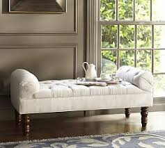 end bed bench bedroom benches end of bed seating pottery barn
