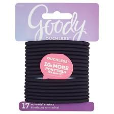goody hair goody ouchless elastic black 4mm 17 ct target
