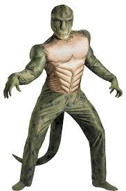 Muscle Man Halloween Costume Amazing Spider Man Lizard Costume Costumes