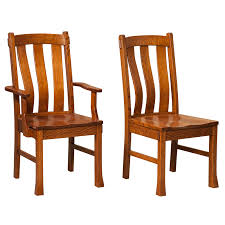 Mission Style Dining Chairs Amish Dining Chairs Amish Furniture Shipshewana Furniture Co