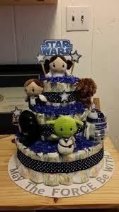 star wars themed diaper cake starwars starwarsbaby birthday