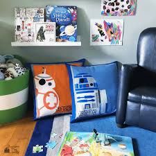 diy wars pillows felt applique bugaboocity
