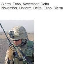 Nude Memes - what does this military joke mean sierra echo november delta