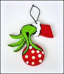 a grinch ornament grinch ornament grinch