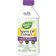 shop garden safe neem oil extract 16 fl oz organic garden insect