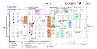 study room floor plan library floor plans maps and directions tcu mary couts burnett