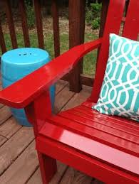 painting outdoor furniture that will last for the home