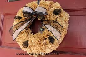 need a fall wreath that is inexpensive to make hometalk