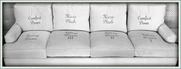 Best Foam For Sofa Cushions Spring Down Micro Plush Custom Cushions Rogers Brothers Fabrics