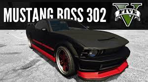 Black Mustang Boss 302 Dominator By Vapid Mustang Boss 302 Build Gta5 Next Gen