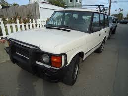 Classic Range Rover Interior Range Rover 1992 Classic Model White Color Tan Leather Interior