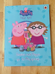 review personalised peppa pig playgroup book