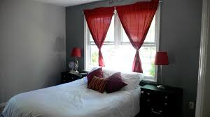 red bedroom curtains and red bedroom collection incredible black grey curtains images