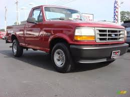 ford electric truck 1994 electric red metallic ford f150 xl regular cab 53983316
