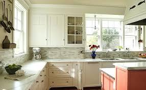 blue kitchen tile backsplash blue subway tile backsplash sea accents and kitchen ideas with white