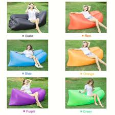 instock now inflatable air sofa bed lounger air couch chair